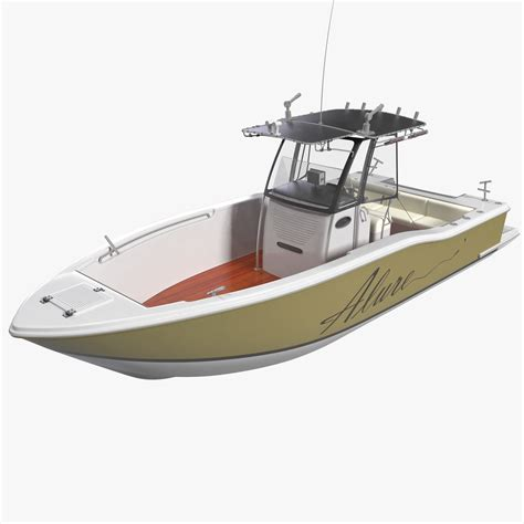 rc land yacht fishing boat 4 3d model