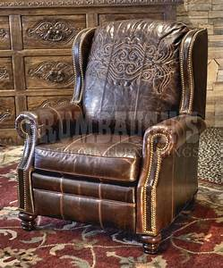 Western Leather Recliners & Western Leather Furniture