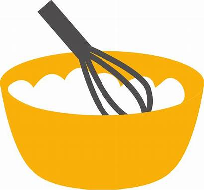 Bowl Clipart Baking Whisk Clip Cooking Flour
