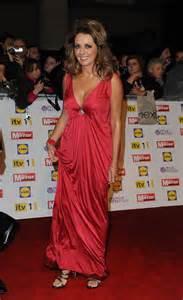 carol vorderman cleavage   pride  britain awards