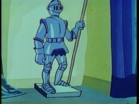 Cartoon Of A Knight In Shining Armor Stock Footage Video