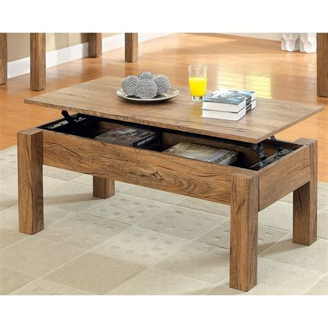 Hinged panels on all sides of the table surface elevate to 25 high and lock into place, creating four 345 sq. Easy Convertible Coffee Table - Loccie Better Homes Gardens Ideas