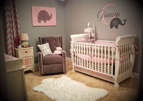 pink baby bedroom ideas gianna s pink and gray elephant nursery reveal baby j 16700 | b722f48a1d6e6362d3d0367cc30a7dd4