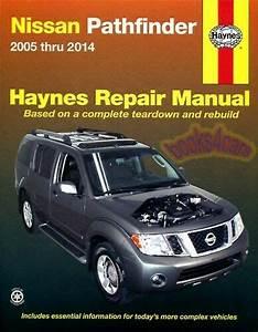 Shop Manual Pathfinder Service Repair Nissan Book Haynes