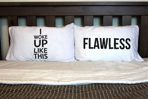 i woke up like this pillow set of two pillow cases the i woke up like by