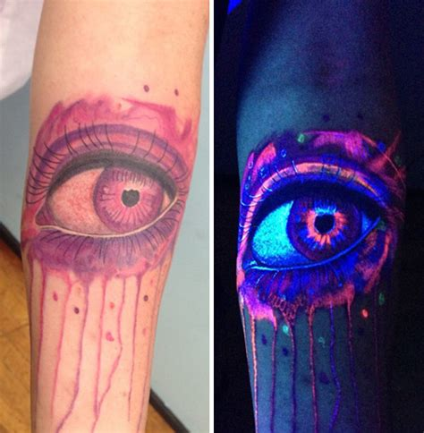 black light tattoos 30 glow in the tattoos that ll make you turn out the