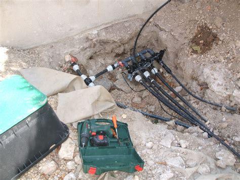 installation arrosage automatique exemple d installation d un syst 232 me d arrosage automatique int 233 gr 233 vert tige