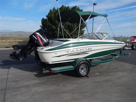 Used Tracker Fishing Boats by 2006 Used Tracker Tahoe Q4 Fish Skitahoe Q4 Fish Ski And