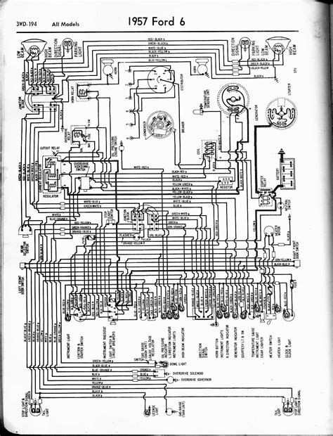 57 Ford Truck Wiring Diagram 57 65 ford wiring diagrams