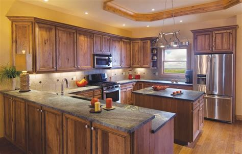 denver hickory kitchen cabinets hickory kitchen cabinets color ideas the decoras 6537