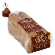 Country Kitchen Bread, Butter Split Wheat Calories