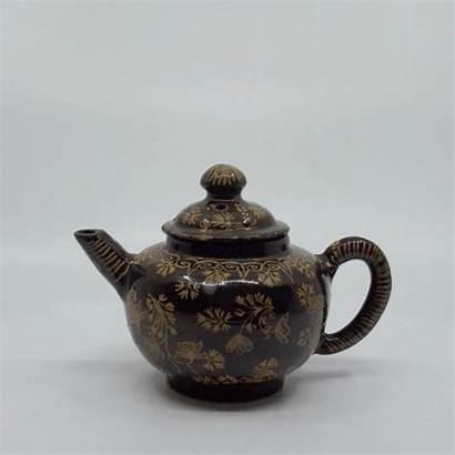 Glazed Teapot Brown Aronson Spherical Unported Noderivs