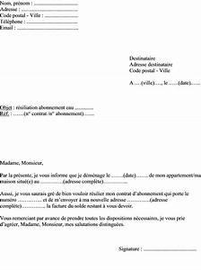 Edf Résiliation Contrat : modele de lettre resiliation de contrat ~ Medecine-chirurgie-esthetiques.com Avis de Voitures