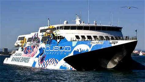 Boat To Freeport Bahamas by Major Bahamas Ferry Services A And Practical Guide