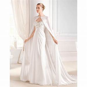 aliexpresscom buy sweetheart beaded sleeveless With wedding dress with cape