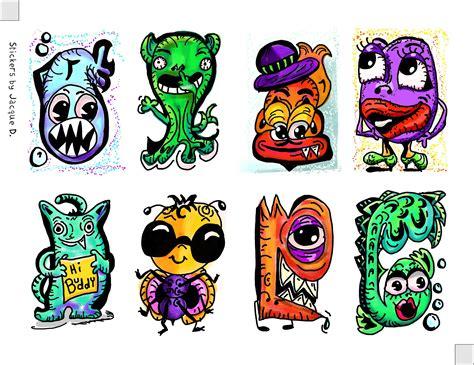 Graffiti Character Monster : Free Graffiti Characters, Download Free Clip Art, Free