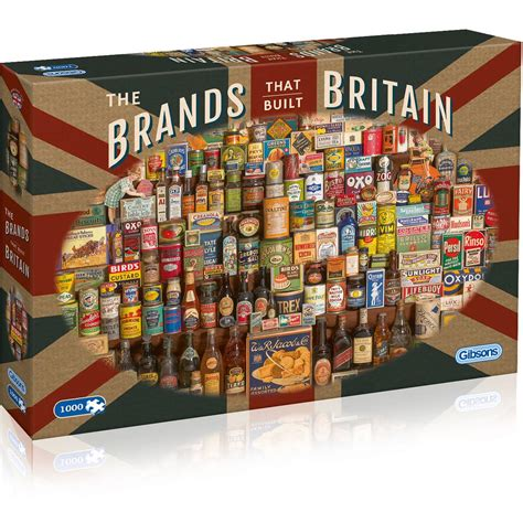 Gibsons The Brands That Built Britain Puzzle 1000 Pieces
