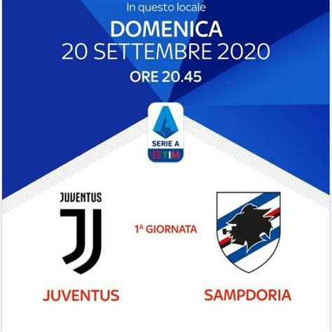 Juventus – Sampdoria | Juventus Club Curno