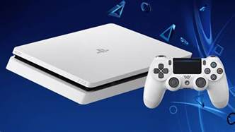 Glacier White PS4 Slim