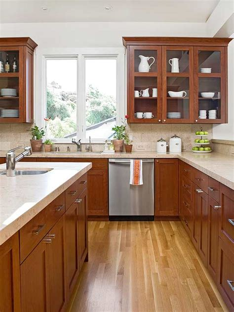 understanding wood cabinet finishes  homes
