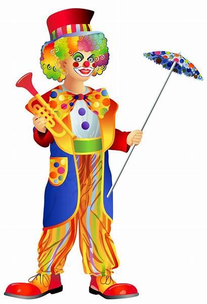 Clown Clipart Clip Transparent Costume Happy Birthday