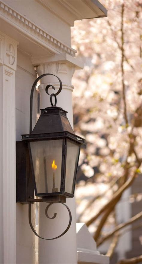 gas porch light best 25 gas lanterns ideas on brick pavers
