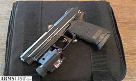 hk usp 45 laser light armslist for sale hk usp expert 45 w streamlight m6x