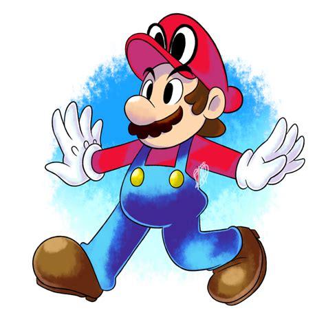 Fanart Super Mario Odyssey By Dnpinotti123 On Deviantart