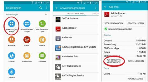 android daten auf sd karte auslagern mobile smartphone