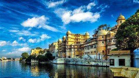 romantic india luxury tourism wallpaper stock photo