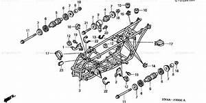 Honda Atv 2003 Oem Parts Diagram For Frame