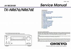 Pin On Onkyo  U0026 Integra Audio  Video Service Manuals