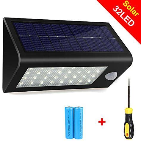 solar wall outdoor led light l motion sensor power