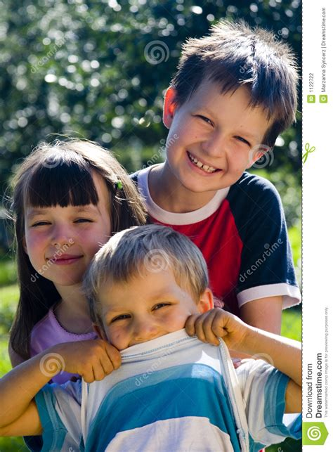 Smiling Kids Stock Photography Image 1122722