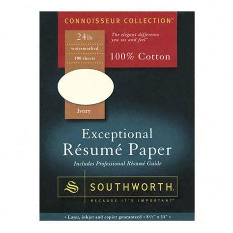 Southworth Exceptional Resume Paper printer