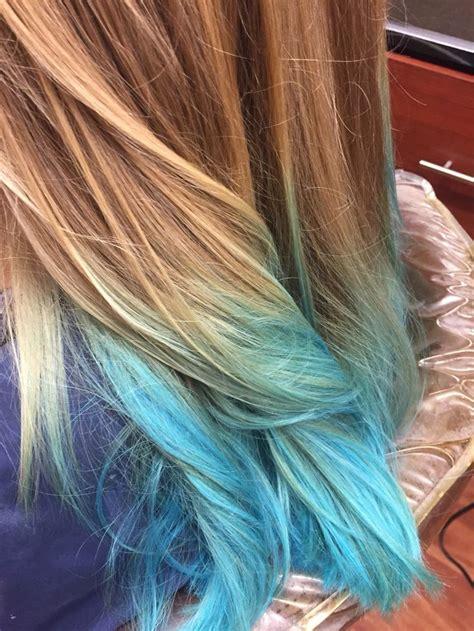 Best 20 Blue Ombre Hair Ideas On Pinterest Blue Hair