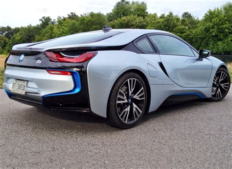 Driving The Future With The Bmw I8 Plug-in Hybrid