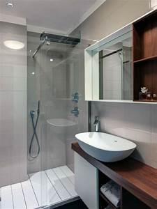 Kleines Bad Dusche : kleines bad funktionell gestalten sch ne interieur l sungen ~ Markanthonyermac.com Haus und Dekorationen