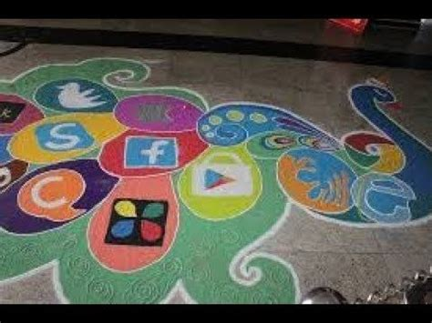 social awareness rangoli designs   rangoli designs