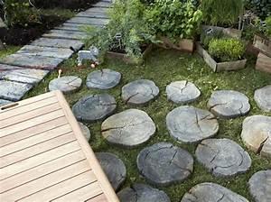 6 bonnes idees deco pour une allee de jardin elle decoration With idee d allee de jardin