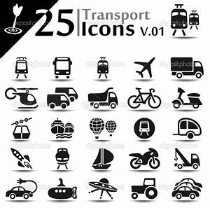 15 Transport Vector Icons Images - Free Vector ...