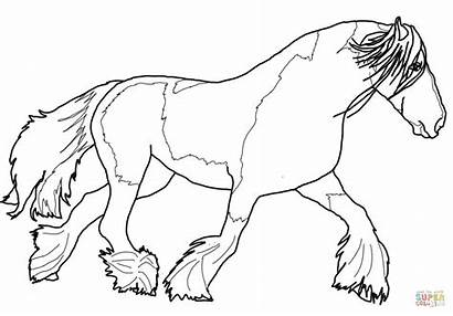 Horse Coloring Pages Paint Printable Getcolorings Colorings