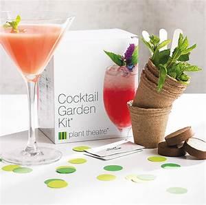 Kit A Cocktail : grow your own cocktail garden and gourmet flower by plant theatre ~ Teatrodelosmanantiales.com Idées de Décoration