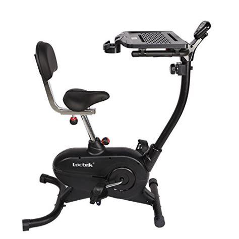 laptop workout desk and recumbent bike loctek uf4m home office upright stationary desk exercise