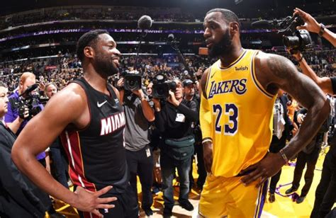 Dwyane Wade Congratulates LeBron James for Passing Michael ...