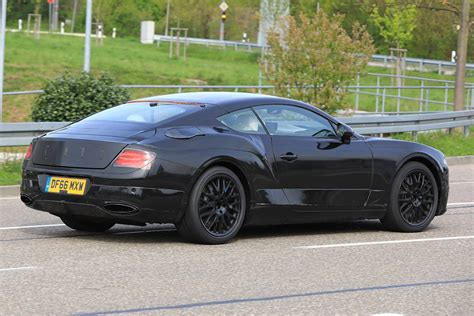 Next Gen Bentley Continental Gt Latest Spyshots Less Camo