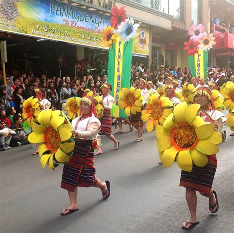 panagbenga street dance parade features cordillera