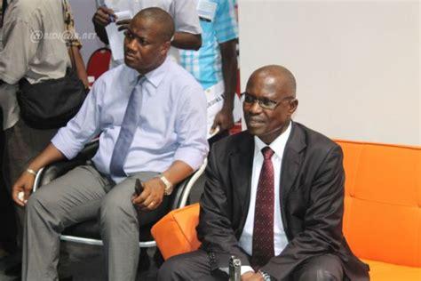 salon ivoirien des m 233 tiers d abidjan le directeur de cabinet du ministre de l emploi visite le