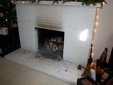 Removing Fireplace's Brick Facade Not So Hard-sfgate