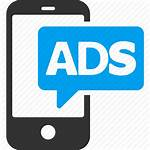 Icon Ads Advertising Marketing Mobile Promotion Transparent